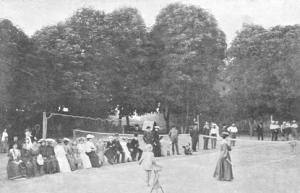 Az első fénykép a kolozsvári teniszről